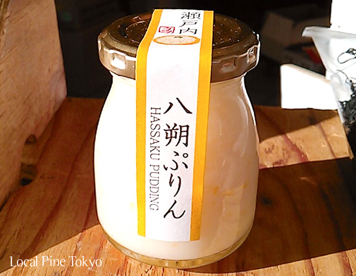 NPO法人ローカル・パイン・トーキョー 広島県 八朔ぷりん