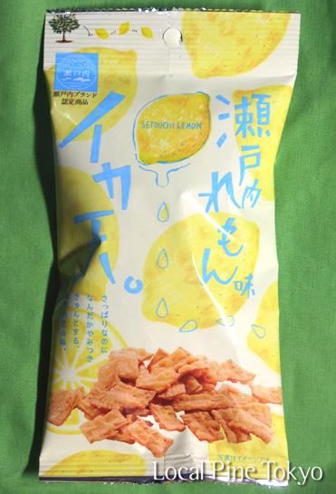 NPO法人ローカル・パイン・トーキョー 広島県 瀬戸内レモン味イカ天。 お菓子 おつまみ
