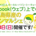 NPO法人ローカル・パイン・トーキョー マルシェ 広島県 美味しい レモン 物産品 自然農法