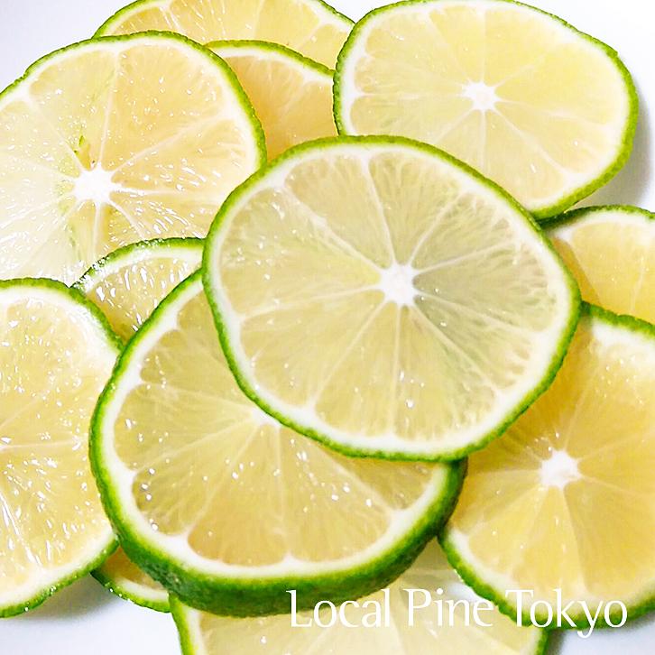 ローカル・パイン・トーキョー レモンマルシェ グリーンレモン 美味しい