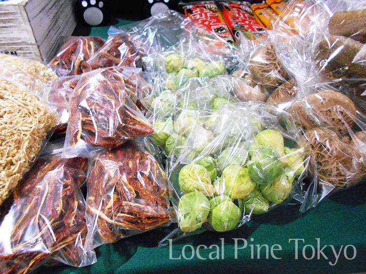 NPO法人ローカル・パイン・トーキョー マルシェ 熊本県 美味しい 南阿蘇村 新鮮 野菜 物産品 切干大根 ドライトマト 芽キャベツ 原木しいたけ